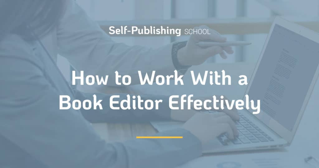 work with an editor