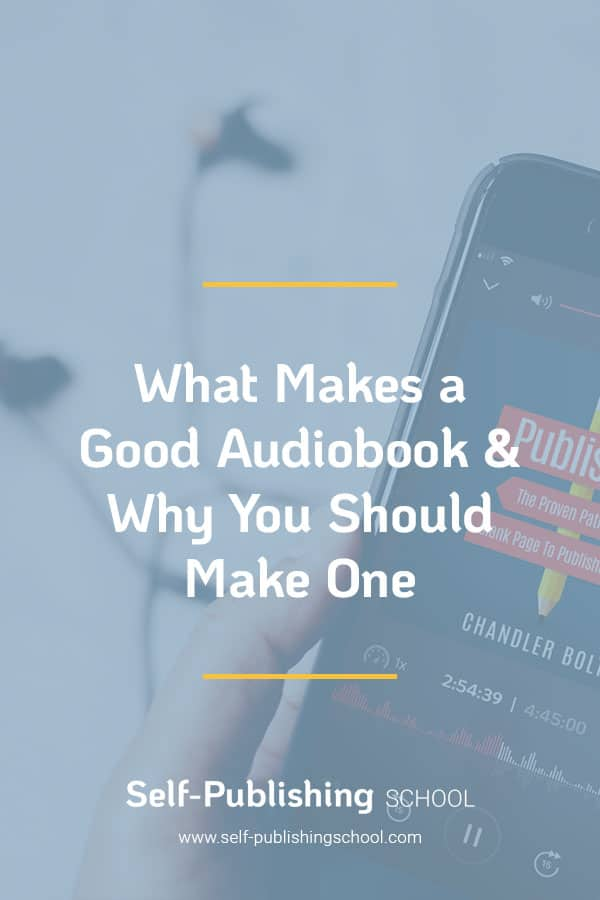 what makes an audiobook good