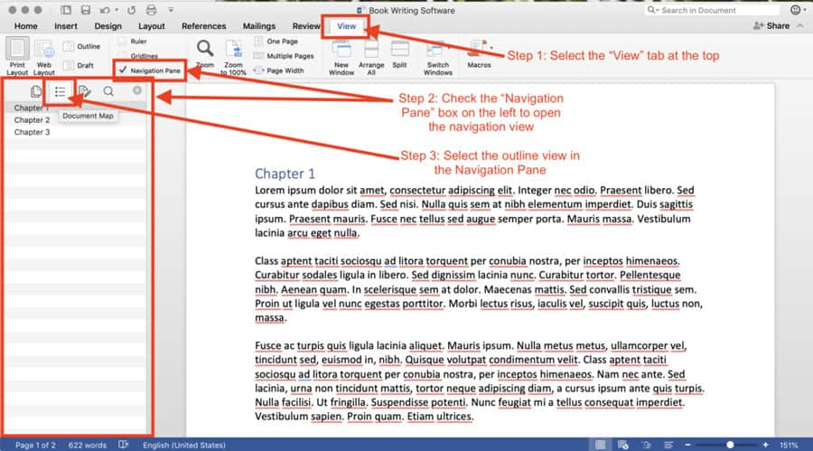 writing software microsoft word-example
