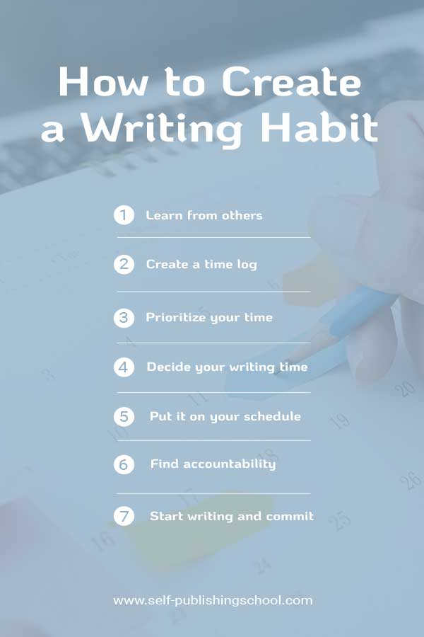 writing habit routine
